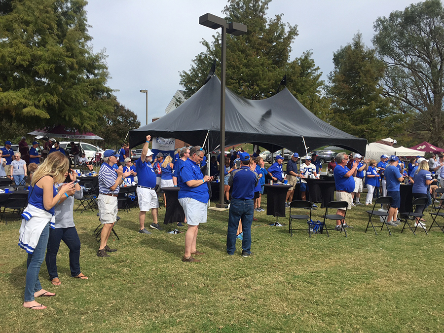 Kroger Starkville Ms >> UK fans enjoy tailgating, more at Mississippi State ...