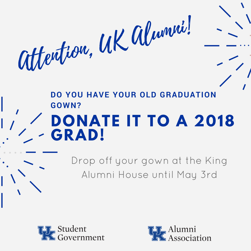 Graduation gowns now being accepted at King Alumni House for May ...