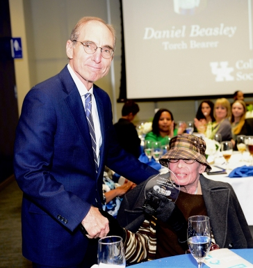 College of Social Work Torch of Excellence winner Dr. Doris Wilkinson