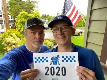 5K Carolyn Young and Scott Vieregg from Kirkland Washington